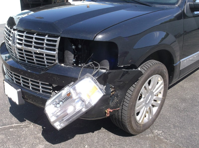 Navigator with frontend damage